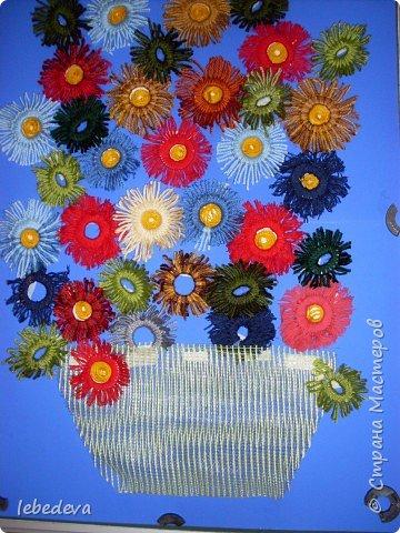 Аппликация: Осенний букет фото 1