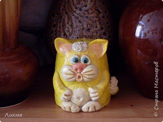 Копилочка Кот-Батон фото 1