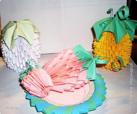 Оригами модульное: Натюрморт