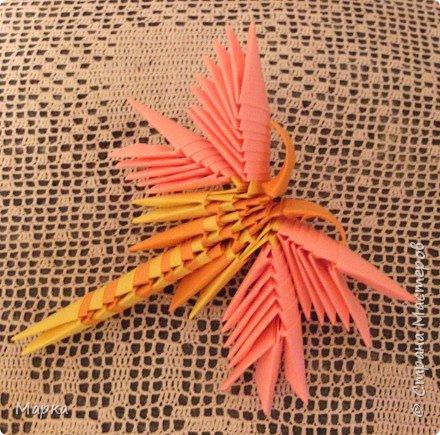 Оригами модульное: Стрекоза