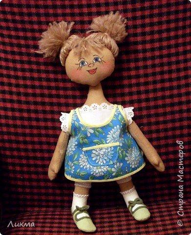 Шитьё: Кукла Юлька фото 1