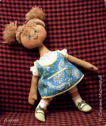 Шитьё: Кукла Юлька фото 2