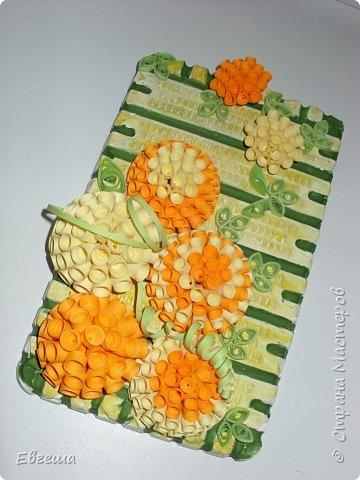 Квиллинг: Цветочное панно фото 1