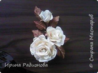 декоративные цветы из ткани. фото 4