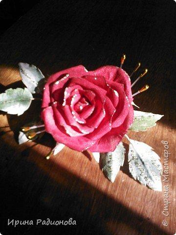 декоративные цветы из ткани. фото 1