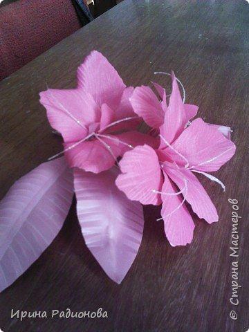 декоративные цветы из ткани. фото 6