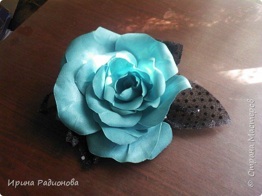 декоративные цветы из ткани. фото 2