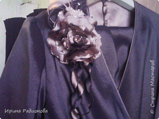 декоративные цветы из ткани. фото 3