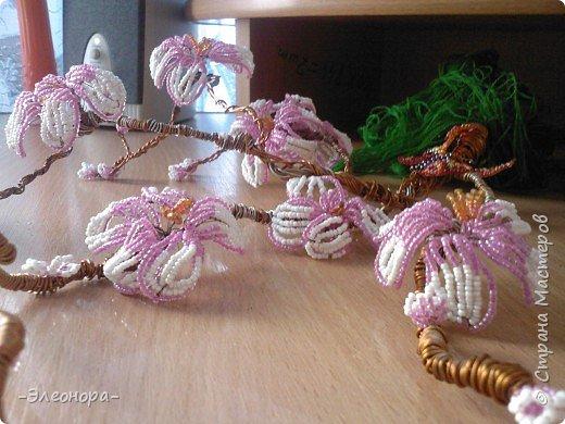 Бисероплетение: Сакура* фото 1