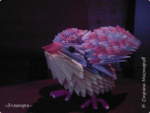 Оригами модульное: Птичка* фото 1