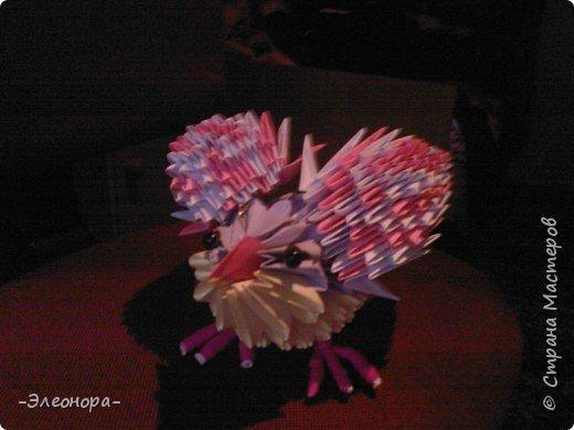 Оригами модульное: Птичка* фото 2