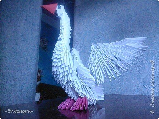 Оригами модульное: Гусь фото 3