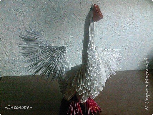 Оригами модульное: Гусь фото 4