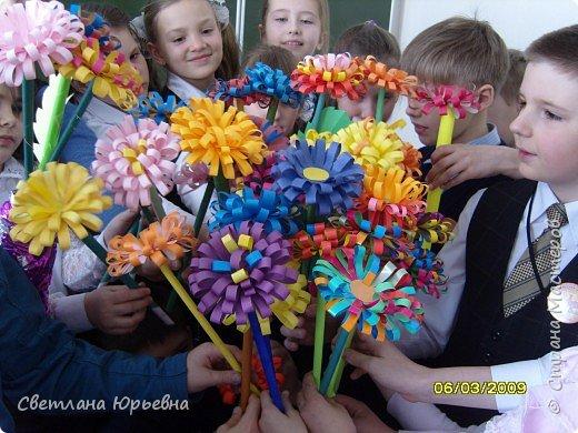 Аппликация: Цветы