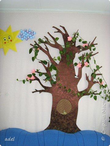 Дети очень воодушевились цветами оригами из кругов ,и работа закипела. фото 7
