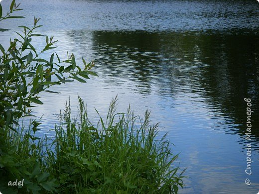 Река такая разная,в один и тот же момент времени.То голубая... фото 1