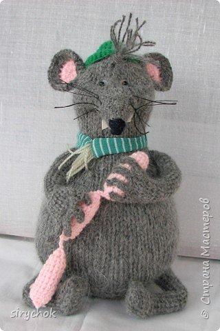 вязаная крыса