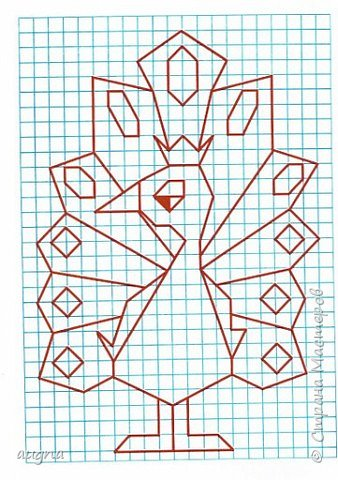 Рисуем по клеточкам. фото 5