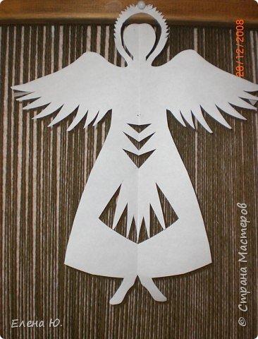 Бумагопластика: Ангел