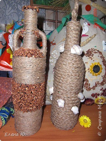 Плетение: Бутылочки