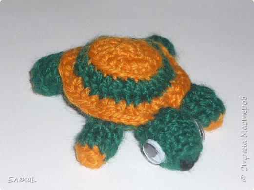 Вязание крючком: Черепашка Машка