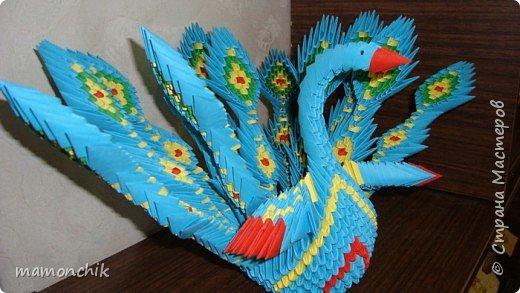 Оригами модульное: Жар-птица