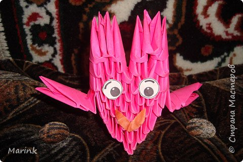 Оригами модульное: ПОДЕЛКИ фото 2