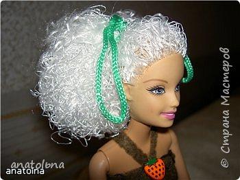 Новые волосы для Барби фото 4