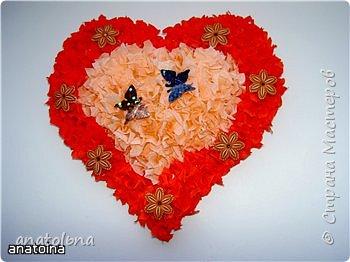Торцевание: Валентинка фото 2