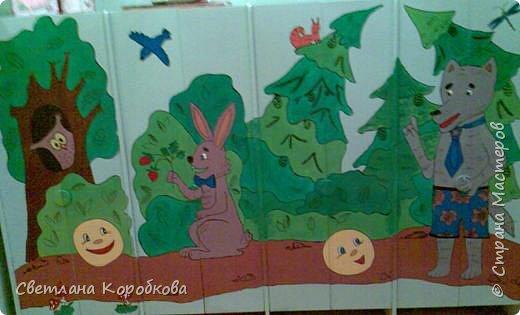 Роспись: как мы расписывали приемную в детском саду фото 3