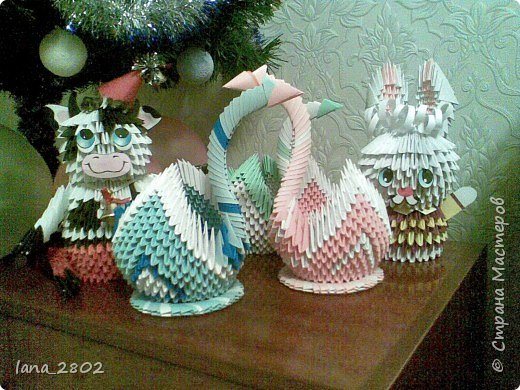Оригами модульное: Подарки фото 2