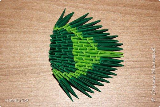 Оригами модульное: Рыбка в море фото 15