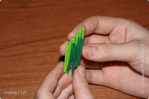 Оригами модульное: Рыбка в море фото 4