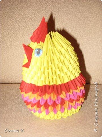 Оригами модульное: Цыплёнок в юбочке фото 2