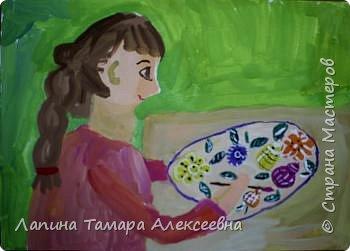 Рисование и живопись: Настино творчество фото 3