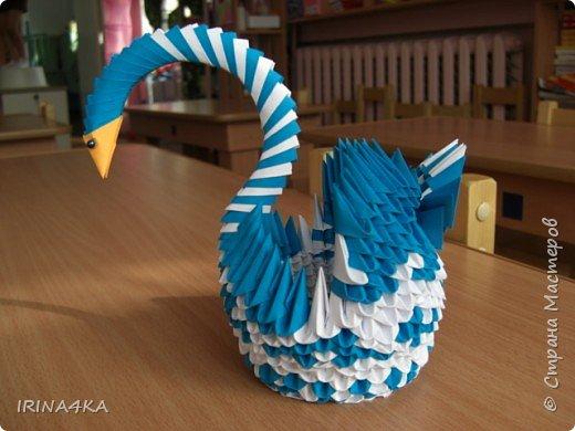Оригами модульное: Птичка невеличка Дмитриевой Даны (6 лет)