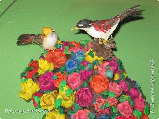 Лепка: Пластилиновые розы