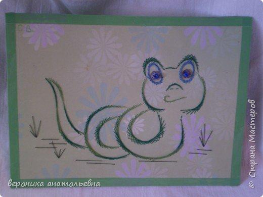 Изонить: Ворона и Змея фото 2