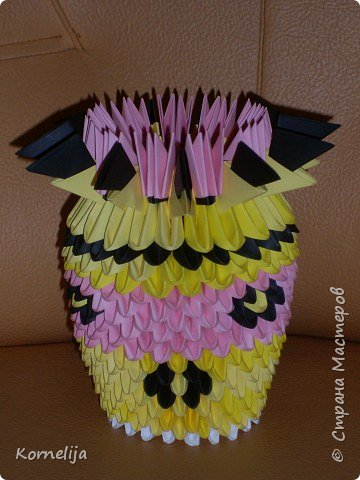 Оригами модульное: Vazochka