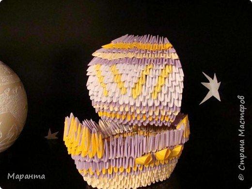 Оригами модульное: Кораблик детства