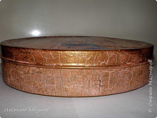 Декупаж: Баночка из под печенья. фото 2