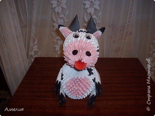 Оригами модульное: корова фото 2