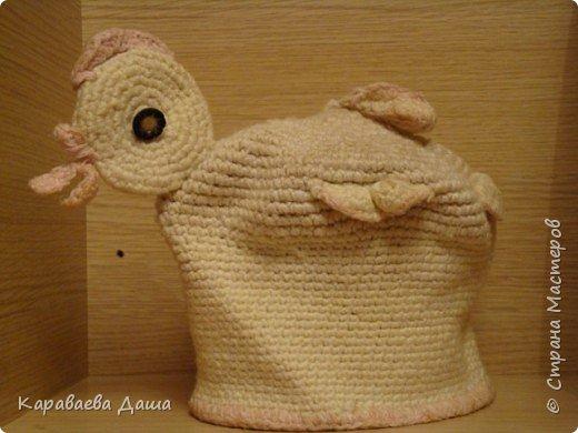 Вязание: Курочка Ряба.