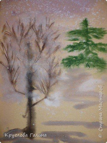 Рисование и живопись: А снег идет, а снег идет...