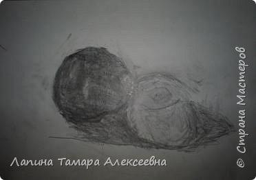 """Натюрморт """"Яблоко и помидор"""" фото 4"""