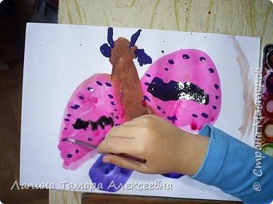 У  Вики  ночная бабочка. фото 7