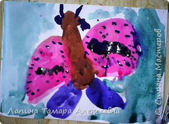 У  Вики  ночная бабочка. фото 8
