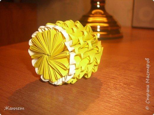 Оригами модульное: Лимончик