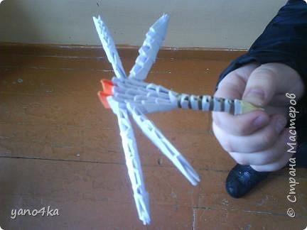 Оригами модульное: НЛО фото 1