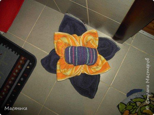 Оригами: Из полотенец фото 7